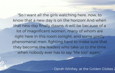 Oprah Winfrey Golden Globes Emily Lives Online