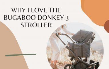 why i love bugaboo donkey 3 stroller - baby journey blog